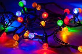 Blinking Xmas Tree Lights by Profiles