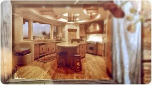 Log Cabin Kitchen Cabinet Ideas by Rustic U0026 Log Home Kitchens Youtube