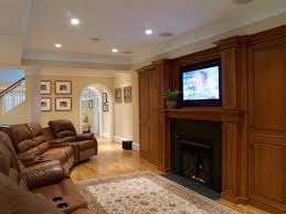 recessed lighting living room by spacious living room with chic