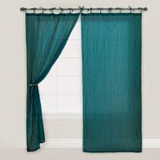Brylane Home Lighted Curtains by Scenario Voile Tab Top Panels Curtains U0026 Drapes Brylanehome
