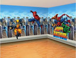 nursery superhero wall decals ideas