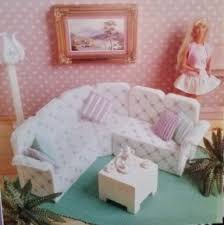 Barbie Living Room Furniture Set by Plastic Dollhouse Furniture Sets Hollywood Thing
