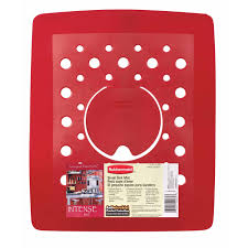 Rubbermaid Small Sink Protector by Rubbermaid Red Sink Mat 2993 Ar Red Sinkware Ace Hardware