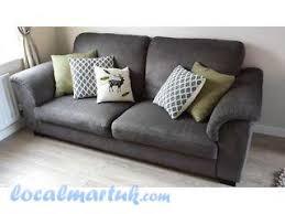 ikea sofa tidafors three seat sofa tullinge grey brown liverpool