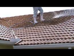 soft wash roof cleaning blackened tile pressure cleaning bergman
