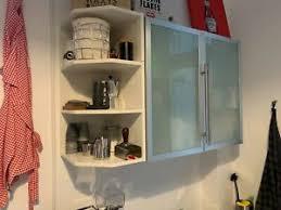 ikea hängeschrank glastüren küche esszimmer ebay