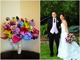 Pink Purple Garden Wedding Ideas