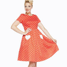 brittany u0027 red heart print swing dress swings style clothes and