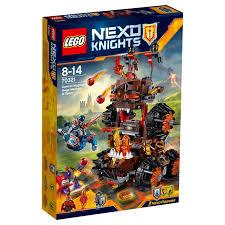 siege deere lego nexo knights general magmars siege machine byrnes