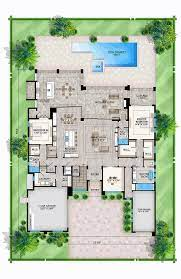 104 Contemporary Modern Floor Plans House Plan 52957 Style With 4232 Sq Ft