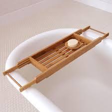 bathtub caddy with reading rack steveb interior design bathtub