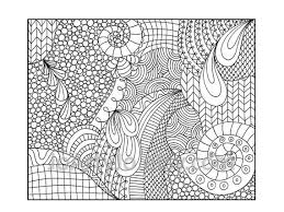 Zentangle Inspired Coloring Page Printable PDF Zendoodle Pattern 14