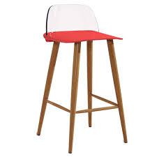 Amazon.com: ,Barstools,Chairs Offce Nordic Creative Bar High Chair ...