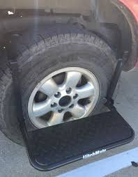 Heininger Hitch Mate Tire Step Up Stool RV Camper Class C Van Truck ...