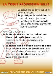 fiche p馘agogique atelier cuisine l hygiène en cuisine version 07 12 biotechno pour les profs