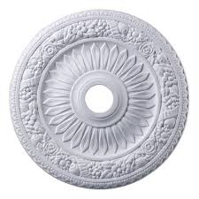 westmore lighting floral wreath ceiling medallion lowe s canada