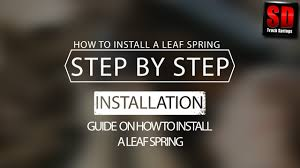 How To Install Leaf Springs - Step By Step | SD Truck Springs | Leaf ... Front Leaf To Coil Cversion Ford Truck Enthusiasts Forums 2004 Chevrolet C6500 Spring For Sale Sioux Falls Sd Springs On 97 F250 4x4 Diesel Forum Thedieselstopcom 96 Gmc K1500 6 Pro Comp Lift 35 Mt2 15by10 Dick Cepek Air Lift Vs Firestone Which One Is Better 1877 Amazoncom Pro Comp 22415 5 Rear For F2f350 99 Trailer Hitches Talks Companion Slider And 5th Wheel Hitch Sdtruckspringscom Traing Traing Course Profs Sdtrucksprings Competitors Revenue Employees Owler Company Ford Super Duty Truck F450 Dually Set 2 Lr Oem Rear Suspension