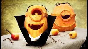 Minion Pumpkin Carving Tutorial by Diy Minion Pumpkin Youtube