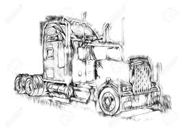 100 American Truck Equipment Illustration Isolated Art Stock Photo Picture And