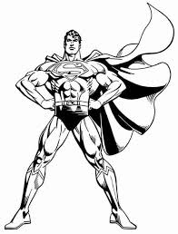 Superman Coloring Pages 1