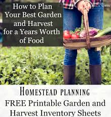How to Plan Your Crops for the Garden and Homestead