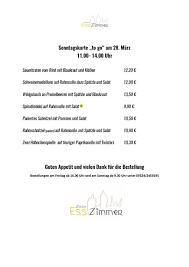 zeiler esszimmer bahnhofstraße 2 zeil am 2021