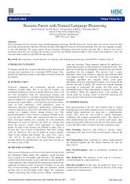 PDF) Resume Parser With Natural Language Processing Powerful Resume Parsing Resume Management Zoho Recruit Parse Definition Hot Update Parsing Is Here And Much More Unsuccessful Greenhouse Support Samples Printable Job Meaning New Nice What Does Parser Open Source Java Processing Flow Wel Come To Sambe Software What Parse Hr Companies Why Structuring Your Data Crucial How Write A Persuasive Essay With An Opposing Viewpoint