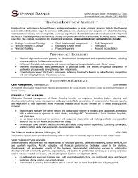 Risk Management Resume Samples Financial Investment Associate Sample Provided By Elite Writing Services Consultant
