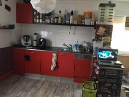 rote küche inklusive e geräte
