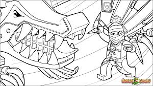 Ninjago Coloring Pages Jay Lightning Dragon Ninja Go Printable Zx 1681241