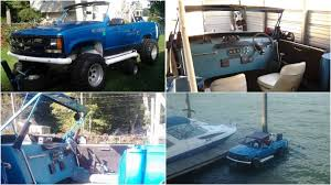 100 Craiglist Trucks For Sale This Chevrolet Pickup TruckBodied Party Boat Is Craigslist At Its