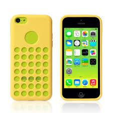 TPU iPhone 5c Case Apple Logo Hole