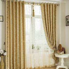 Gold And White Curtains by Curtains Gold Decorate The House With Beautiful Curtains