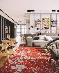 100 Pop Art Interior Style Penthouse In Tel Aviv