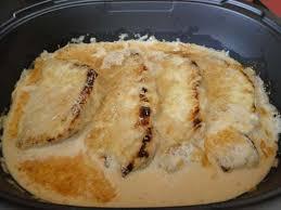 cotes de porc gratinees tupperware recipe