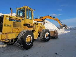 100 Bill Hall Jr Trucking FiveStory Snow Piles Cover Peirce Island New Hampshire Public Radio