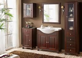 badmöbel retro 85 mit waschbecken massivholz braun verschiedene kombinationen