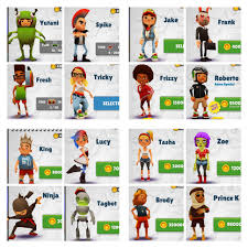 Subway Surfers Halloween Download Free by Choose Your Favorite Subway Surfer Mine Is Roberto Cool