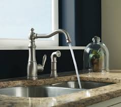 Moen 90 Degree Kitchen Faucet Stainless by Faucets Kitchen Handsome Moen 90 Degree One Handle Pullout