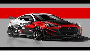 Hyundai Genesis Coupe R Design Cool Car 2012