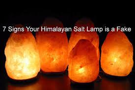 Salt Water Lamp Hoax by Real Himalayan Salt Lamp Lamp Art Ideas