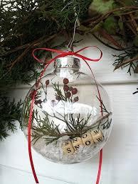 Diy Christmas Ornament Tree Branch