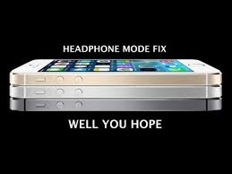 How to fix an Iphone in Headphone Mode