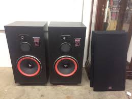 nice pair of cerwin vega re 30 floor speakers pickett
