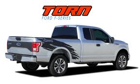 TORN : 2015-2019 Ford F-150 Mudslinger Side Truck Bed 4X4 Vinyl ... Vehicle Custom Graphic Design Signs Of Seattle Home Toyota Tundra Antero Rear Side Truck Bed Mountain Scene Accent 42018 Gmc Sierra Stripes Rally Hood Decals Vinyl Graphics Amazoncom Ford Raptor 2017 Exterior Graphics Kit Decal Sticker Unique For Cars And Trucks Northstarpilatescom Rage Solid Dodge Ram Car Stripe Racing 94 Door Ram Suv Motor Digital Power Wagon Style Striping Tailgate Hash Marks 1920 Hash Marks Hemi Hood Graphic 092018 Split Center Accelerator Chevy Silverado Upper Body Line