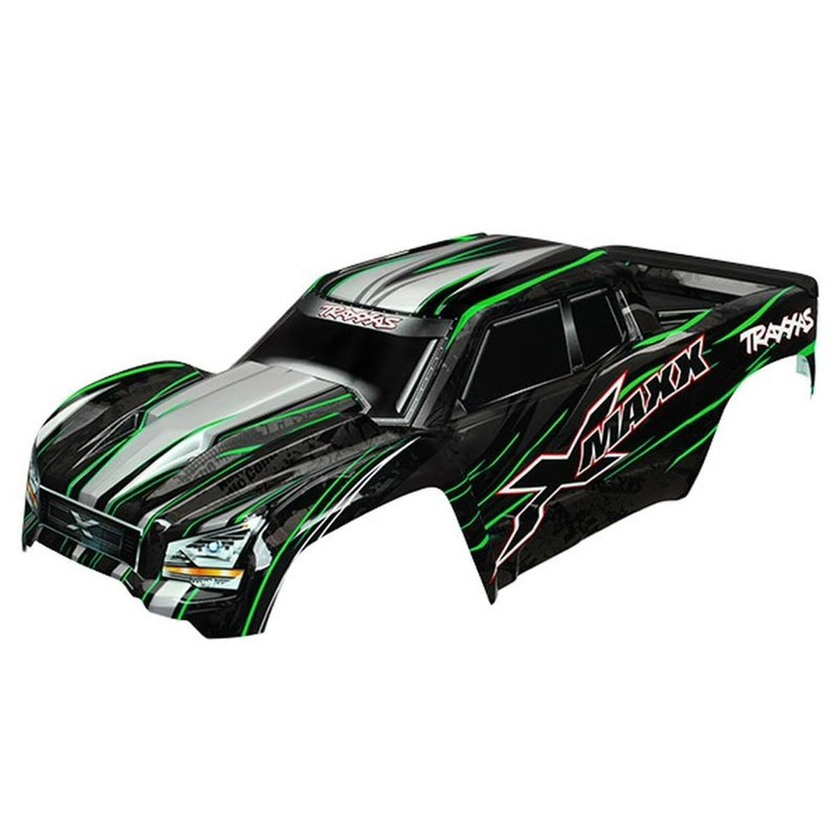 Traxxas X-Maxx Body (Green - Painted w/ Decals)