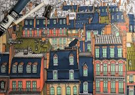 A Paris Streetscape Is Depicted In The New Book Fantastic Cities Image