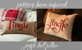 Pottery Barn-Inspired Jingle Pillow | Hair Teasing & Hair Bows 200 Best Pottery Barn Designs Images On Pinterest Bathroom Ideas Painted Pumpkin Pillow Inspired Basketweave Cushion Cover Au Tips Ideas Catstudio Pillows Target Brings Coastal Chic To South Beach Are Those Amy Spencer Interiors Printed And Patterned Silver Taupe Performance Tweed Really Like The Look Place Mats Style For Less The Knockoff Pillow Seasonal Pillows A Fraction Of Price From Thrifty Decor Chick