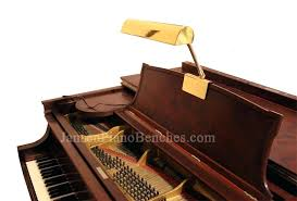 clip on piano l clip on led grand piano l in black with