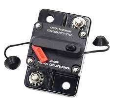 100 Truck Stereo Systems Amazoncom Cllena 50 Amp Circuit Breaker For Car Rv ATV